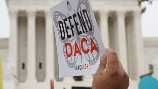 New Jersey 'Dreamers' rally in Washington as Supreme Court could let Trump end DACA program.