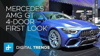 Mercedes-AMG GT 4-Door - First Look at Geneva Motor Show 2018