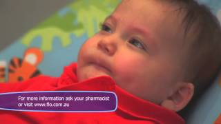 how to clear baby s blocked or snotty nose with flo baby nasal spray