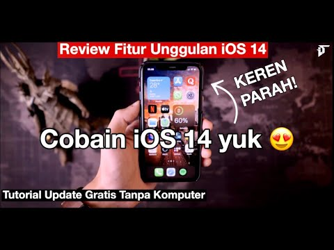 iOS 14 Review Indonesia + Tutorial update via iPhone by iTechlife