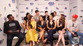 The Flash Comic con 2018 - Grant & Danielle surprises themselves with their Chemistry.