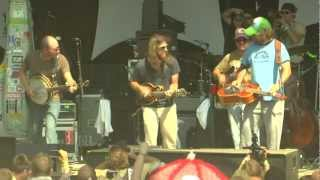 Greensky Bluegrass - Jaywalking (into) Light Up Or Leave Me Alone - Summer Camp Festival 2012
