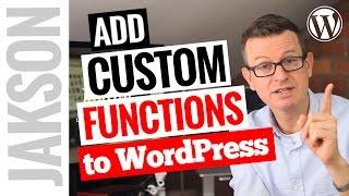 видео functions.php в WordPress