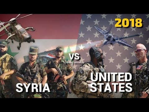 Syria vs United States - Military Power Comparison 2018