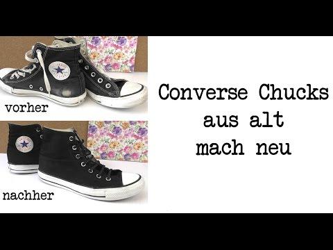 Converse Chucks aus alt macht neu / Chucks schnell und einfach restaurieren / DIY Anleitung