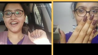 Daily vlog| Daily routine| Home to office | Nail extensions| Anupama nainwal ♥️