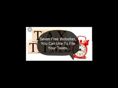 7 Websites You Can File Your Taxes On FREE!