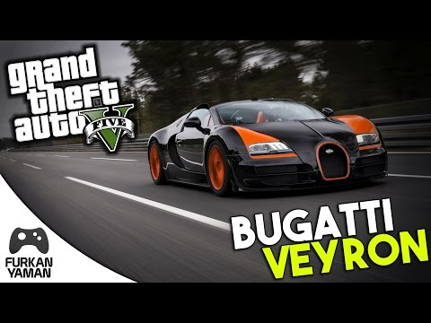 BUGATTİ VEYRON - (GTA 5 Modları) Türkçe