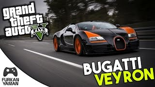 Video BUGATTİ VEYRON - (GTA 5 Modları) Türkçe download MP3, 3GP, MP4, WEBM, AVI, FLV Desember 2017