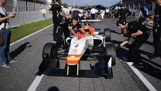 Un fin de semana de carreras con Campos Racing - EuroFormula Open