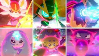 Pokémon Sword & Shield - All Dynamax Moves