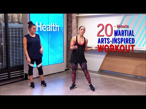 This Martial Arts Workout Will Strengthen and Tone Your Entire Body