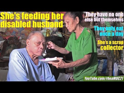 Travel to Manila Philippines and Meet these Poor Old Couple. What if I Become the President?