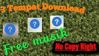 Gambar cover Youtube no Copyright , 3 tempat download backsound- youtubers pemula 02[] No Doubt 01