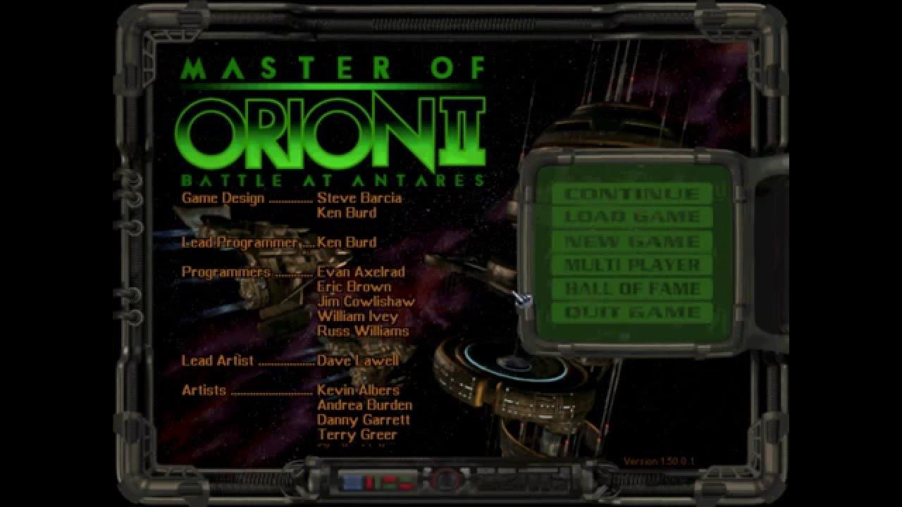 Master of orion 2 vdc