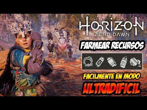 HORIZON ZERO DAWN - COMO FARMEAR RECURSOS FACILMENTE EN MODO ULTRADIFICIL