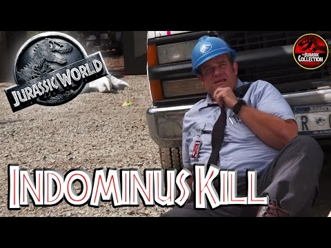 Jurassic World | INDOMINUS REX KILLS FAT GUY | Behind the Scenes