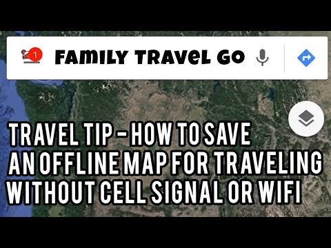 Travel Tip - How to Save Offline Maps on Google Maps