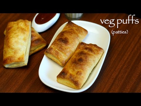 veg puff recipe | curry puff recipe | veg patties or vegetable puff recipe