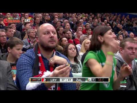 """Rungtynių apžvalga: Vilniaus """"Lietuvos rytas"""" - Kauno """"Žalgiris"""" [2017-02-05]"""