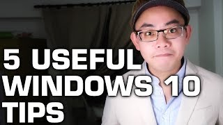 5 Useful Windows 10 Tips