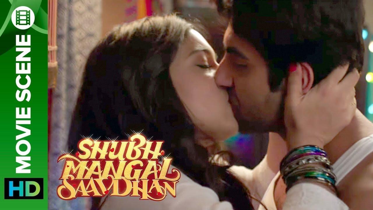 Download Bhumi & Ayushman's Hot Kissing Scene | Shubh Mangal Saavdhan | Ayushmann Khurrana & Bhumi Pednekar