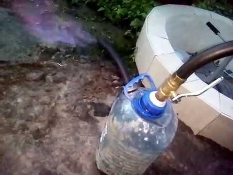 Биогаз. Поджиг газа