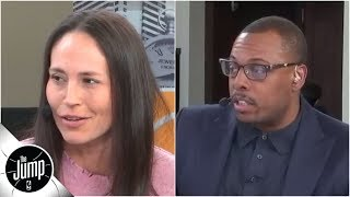 Paul Pierce and Sue Bird reveal which analytics players (and front offices) care about | The Jump