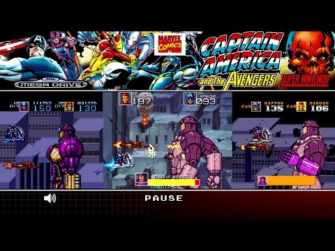 Captain America and the Avengers | Arcade, Mega Drive/Genesis, SNES | Comparison