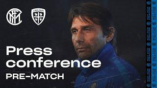 INTER vs CAGLIARI | Antonio Conte Pre-Match Press Conference LIVE 🎙⚫🔵 [SUB ENG]