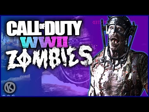 WW2 Zombies Funny Moments - Wüstling Army & HQ Butt Sliding!