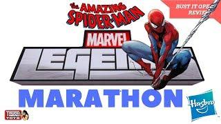 Spider-Man Marvel Legends Action Figure Marathon Bust It Open & Spider-Man 2018 Game Review