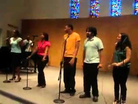 American University Praise Team - Judith Mcallister - Oh Give Thanks (Spring 2010)