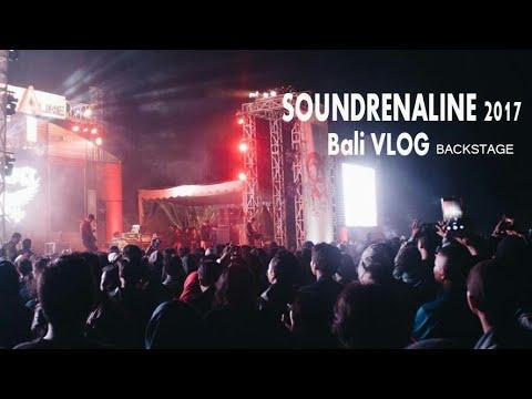 Backstage SOUNDRENALINE 2017 di bikin merinding bro. salah satu event terkeren Di Indonesia