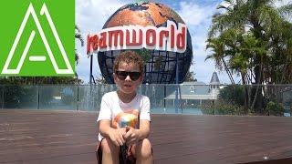 Идём в парк развлечений ДримВорлд Аттракционы./Dreamworld Gold Coast. Kids Channel   Master Adam