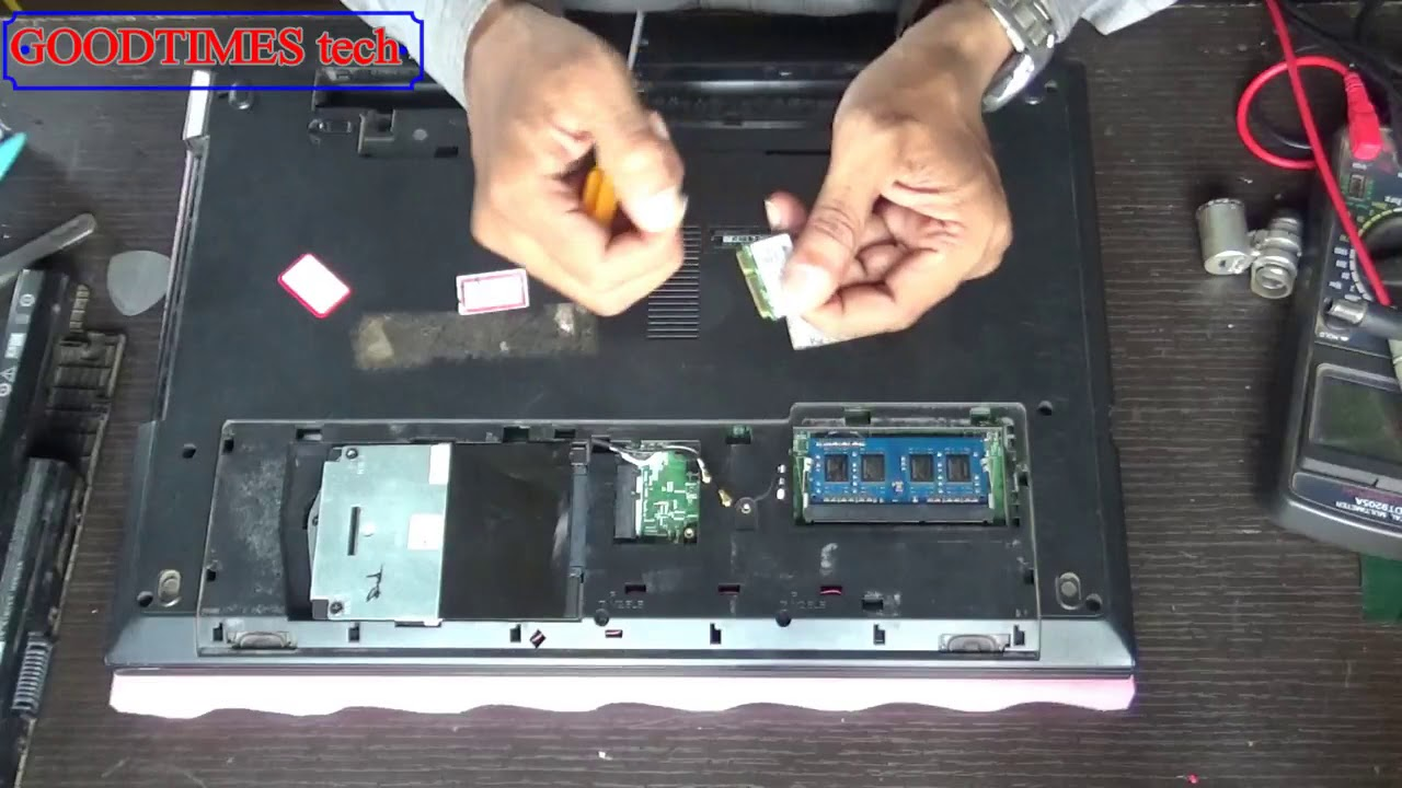 DELL Inspiron 15 3000 Series How to replace WiFi Card