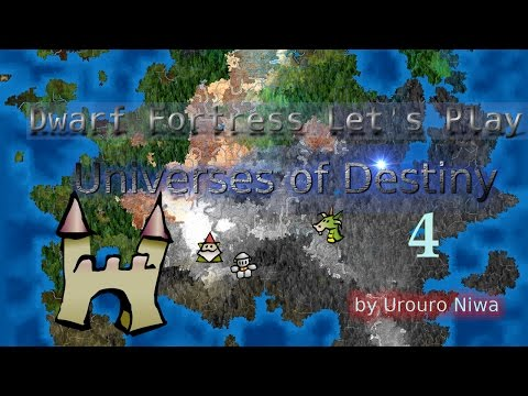 Vanilla Dwarf Fortress - Universes of Destiny 4 (Adventure Part 1)