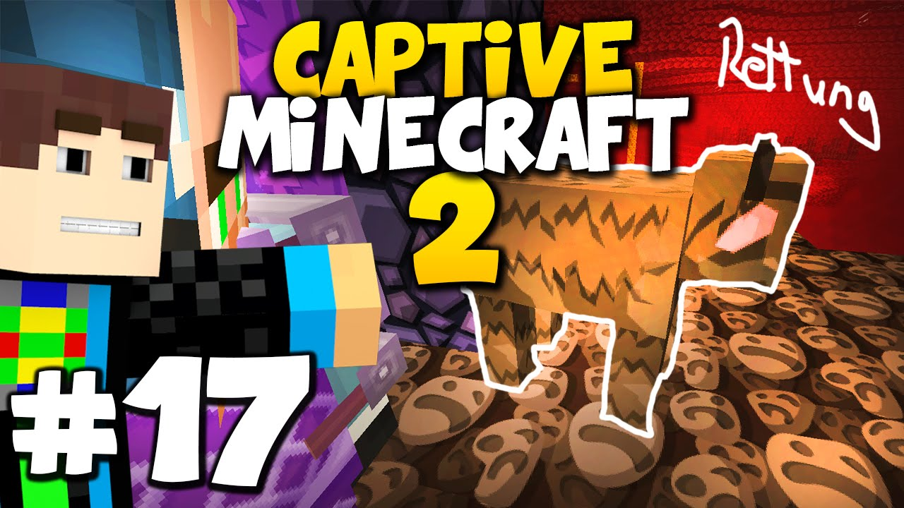Captive Minecraft DIE GROßE KUHRETTUNG D Captive - Minecraft captive spielen