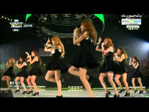 [1080p] 140814 SNSD - Gee @ M! Countdown K-CON 2014