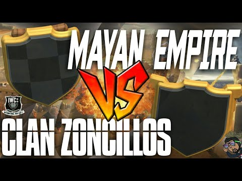 🔴 DIRECTO NINJA 💣 | Inter War Cup🏆| MAYAN EMPIRE vs CLAN ZONCILLOS | Rogersslike Clash of Clans