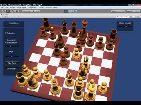 Chessforeva: Unity3D chess project