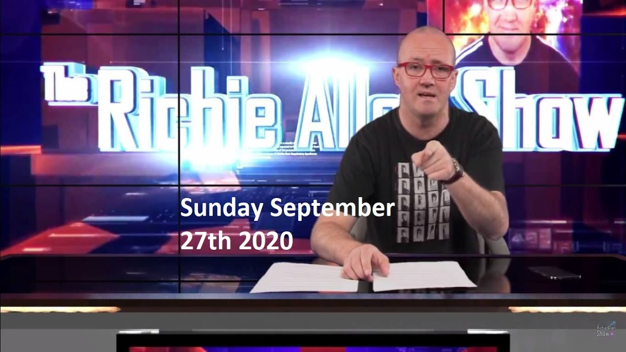 Sunday View With Richie Allen - September 27th 2020