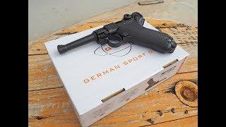 Pistola Luger GSG Mod. 08 CO2 4,5 mm