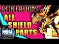 REVELATIONS ALL SHIELD PARTS LOCATIONS! Dragon Shield Guide Black Ops 3 Zombies