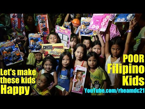 For the Poor Filipino Kids Living in the Slums of the Philippines, There is Something for You...