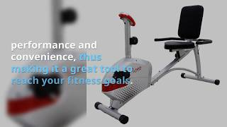 Sunny Health & Fitness Magnetic Recumbent Bike Exercise Bike Review