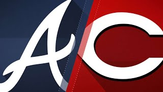 Acuna Jr. gets first MLB hit in Braves