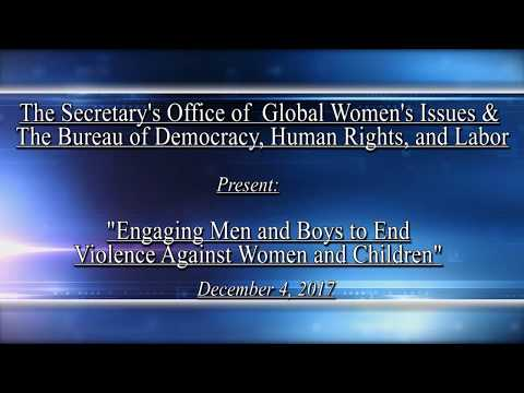 Engaging Men and Boys to End Violence Against Women and Children