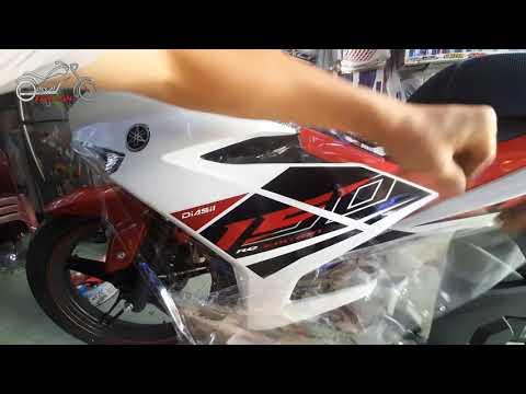 Dán Xe Exciter 150 | Dán Keo Trong Xe Yamaha Exciter RC 2020 Màu Trắng Đỏ Đen Đẹp