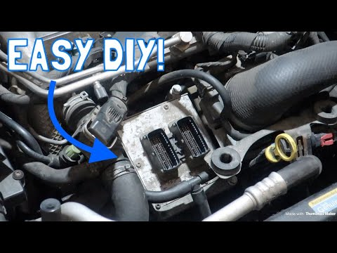 Saab 9-3 Quick Fix – ECU Removal and Replacement